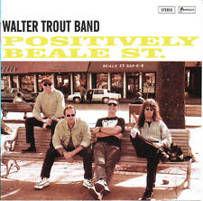 Walter Trout Band – Positively Beale St.  CD NEW