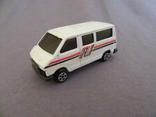 568G Rare Buby 1260 Argentine Renault Trafic I Blanc 1:64