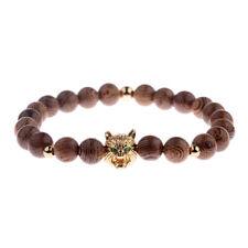 Wolf's Head Bracelet