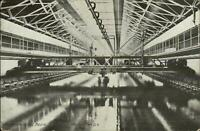 Washington DC Navy Yard Experimental Basin c1910 Postcard