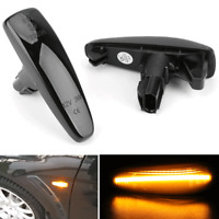 Amber LED Side Marker Sequential Turn Signal Light For Mitsubishi Lancer 2008-17