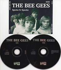 "BEE GEES ""SPICKS & SPECKS"" ULTRA RARE DOUBLE CD SET / BARRY GIBB - MAURICE GIBB"
