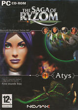 THE SAGA OF RYZOM MMO RPG Role Playing PC Game NEW BOX