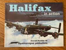 Squadron /Signal Publications Halifax In Action By Jerry Scutts 1066