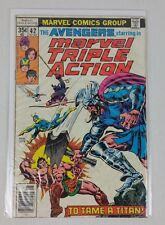 "MARVEL TRIPLE ACTION #42 ""STARRING THE AVENGERS"" (1978)"