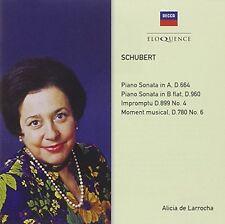 Alicia de Larrocha - Schubert: Piano Sonatas D664 & 960 [New CD] Australia - Imp