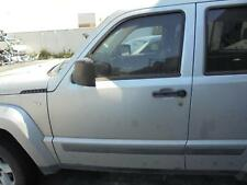 JEEP CHEROKEE LEFT FRONT DOOR WINDOW KK, 02/08-10/12 08 09 10 11 12