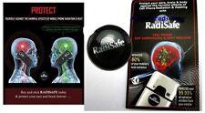 5x Quantum Escudo etiqueta engomada Anti radiación para los teléfonos móviles Radi seguro radisafe