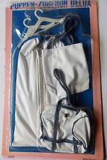 Vintage - poupées accessoire de luxe Set de voyage BAG, - Poupée sac vêtements