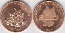 Europa BRD ECU 1993, etwa 30 mm & 13 Gramm