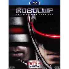 ROBOCOP - Collezione Completa - Cofanetto (4 Blu Ray)  Nuovo