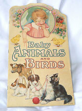 Baby Animals and Birds by Julia Anne Rogers (Stecher Litho 1927 12 pgs Pb) - VG+