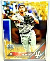 2016 Topps Update Corey Seager Rookie All-Star US167 JUMBO 5X7 RC GOLD 4/10!