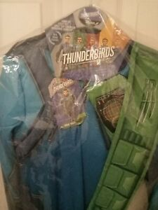 Thunderbirds Fancy Dress virgil Tracy outfit new age 7/8