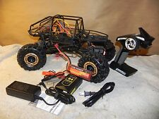 RTR Brushless 4WS Axial Crawler Integy T2 RCT1.9 Cage C25799Black SCX10 3s LiPo
