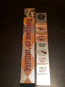 Benefit Precisely My Brow Pencil 12 Hour Wear Waterproof ~ Pick Your Color