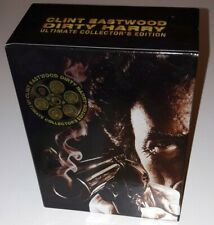 Dirty Harry Ultimate Collectors Edition 7-Disc DVD Set Wallet Badge Poster Rare