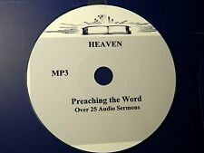 HEAVEN, OVER 25  AUDIO SERMONS, MP3 one CD