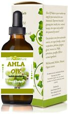 Amla Oil 100% Natural for Hair Growth, Grey Hair, Alopecia treatment 2 oz
