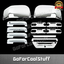 2015 Ford F-150 4Drs+Base Plate+Mirror+Tailgate W/Sensor Chrome Covers