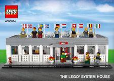 LEGO 4000034 Inside Tour 2019 Set Lego System House PDF Instructions Only