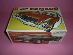 Rare Vintage MPC 1975 75 New Camaro Unbuilt 1/25 Model Car Kit