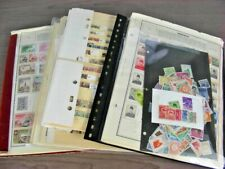 GERMANY, INDONESIA, BELGIUM, Accumulation of 2000+ Stamps in stock pages, pages