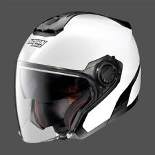CASCO MOTO SCOOTER JET NOLAN N40-5 SPECIAL N-COM PURE WHITE 15