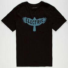 Electric Corby Pocket Short Sleeve Tee T-Shirt (M) Black