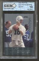 1998 Peyton Manning Prestige #155 Gem Mint 10 RC Rookie Colts Broncos
