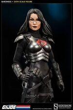 SIDESHOW 1/6 SCALE THE BARONESS FROM COBRA  COLLECTORS FIGURE F/G.I.JOE NOT/TOY