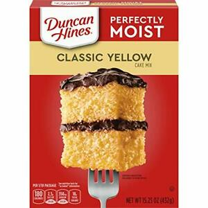 Duncan Hines Classic Cake Mix, Yellow, 15.25 Ounce