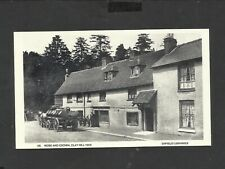 Repro card Rose and Crown Clay Hill c1909 Enfield Libraries