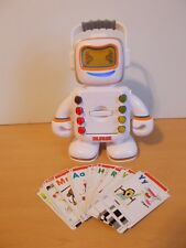 2009 Playskool Alphie Robot Electronic Talking Interactive Educational +Cards