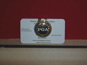 PGA Gold Circular Money Clip