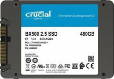 Crucial BX500 480 Go 3D NAND SATA, 2,5'' SSD Interne (CT480BX500SSD1)
