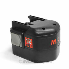 12V 2.0AH Battery for MILWAUKEE 48-11-1950 48-11-1960 48-11-1967 48-11-1900