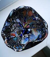 Vintage Murano AVeM zanfirico millefiori 'tutti frutti' art glass bowl C 1950's