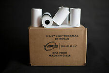"Thermal Paper Receipt Rolls Size: 2.25"" X 50'"
