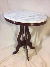 Stand,Marble Top Gorgeous Mahogony Not antique,Ship by Greyhound $79,MAKE OFFER