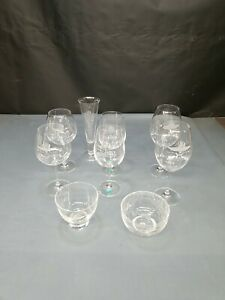 Indy 500 '01-08 TIFFANY & WATERFORD Crystal Collection EXCELLENT Wine Glass Bowl