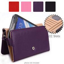 Simple Protective Wallet Case Clutch Cover for Smart-Phones ESXLWL-6