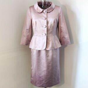 LK Bennet dress (size10) and jacket (size 12) wedding outfit. silk, soft pink