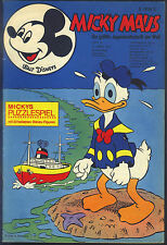 Micky Maus Nr.12 vom 21.3.1970 mit MMK-Gutscheinecke + Bundesligastars - TOP Z1
