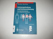 Existenzgründung und Existenzsicherung von E. Hering und N. Manz (2000, Taschenb