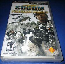 Socom U.S. Navy Seals Fireteam Bravo 3 Sony PSP Factory Sealed! Free Shipping!