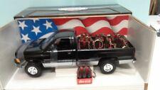 ERTL 1/18 1995 DODGE RAM 2500 SLT LONG BED TRAY (UTE) wth 8 added Coca Cola Load