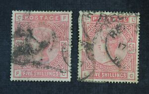CKStamps: Great Britain Stamps Collection Scott#108 Victoria Used Thin