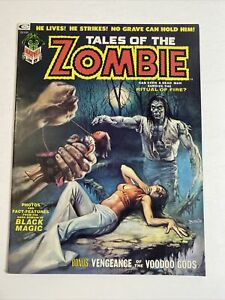 Tales Of The Zombie #3 Vol #1 Boris Vallejo Cover Marvel/Curtis 1973 VF/NM