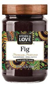 Kitchen & Love Premium Fig Preserves - 12.3 oz